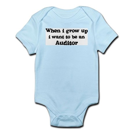 Be An Auditor Infant Creeper