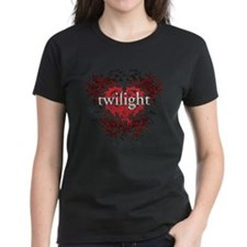 twilight fiery heart Tee
