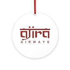 Ajira Airways Ornament (Round)