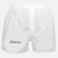 Vintage Publisher Boxer Shorts