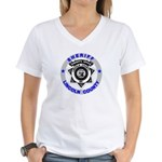 Sheriff Lincoln County Women's V-Neck T-Shirt