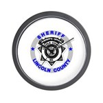 Sheriff Lincoln County Wall Clock