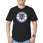 Sheriff Lincoln County Men's Fitted T-Shirt (dark)