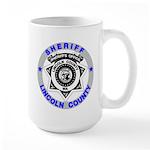 Sheriff Lincoln County Large Mug