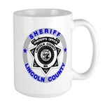 Sheriff Lincoln County Large Mug