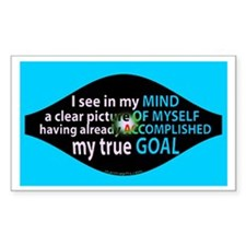 Goal Visualization Rectangle Decal