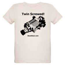 Twin Screwed - Organic Kids T - Supercharger