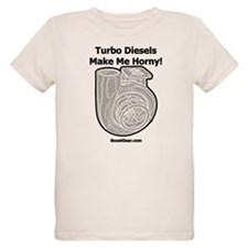 Turbo Diesels Make Me Horny! - Organic Kids Shirt