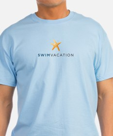 His SwimVacation Blue T-Shirt