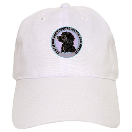 portuguese water dog addict Cap