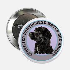 portuguese water dog addict Button