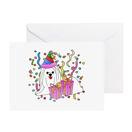 Maltese Party Greeting Card