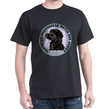 Portuguese Water dog Addict Black T-Shirt