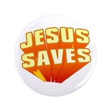 "Jesus 3.5"" Button (100 pack)"