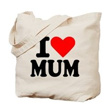 I love Mum Tote Bag