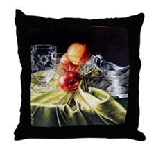 Red & Green Series #1 Throw Pillow