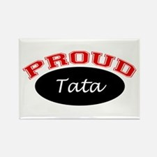 Proud Tata Rectangle Magnet