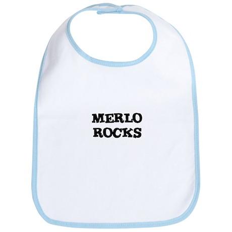 MERLO ROCKS Bib