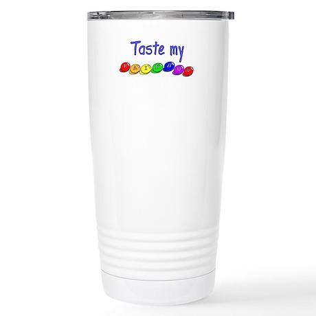 Taste my rainbow! Stainless Steel Travel Mug
