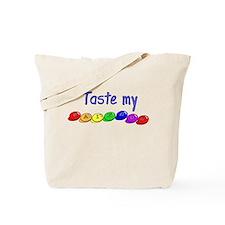Taste my rainbow! Tote Bag