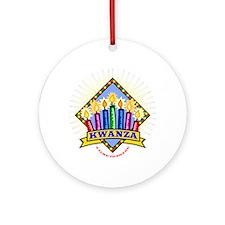 Kwanza Ornament (Round)