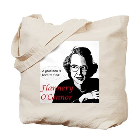 Flannery O'Connor Good Man Tote Bag