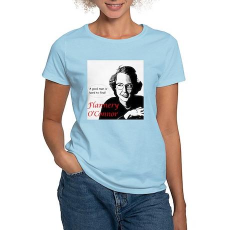 Flannery O'Connor Good Man Women's Light T-Shirt