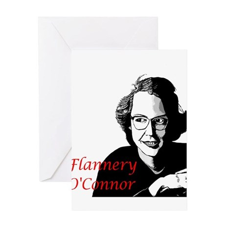 Flannery O'Connor Greeting Card