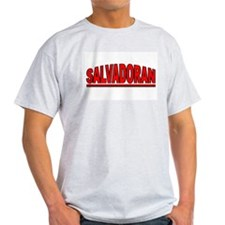 """Salvadoran"" Ash Grey T-Shirt"