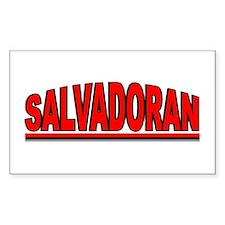 """""""Salvadoran"""" Rectangle Decal"""