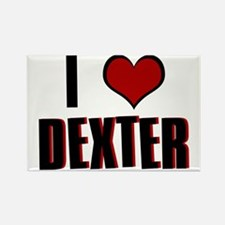 I Heart Dexter Rectangle Magnet