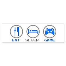Eat Sleep Game Bumper Bumper Sticker