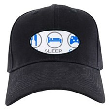 Eat Sleep Game Baseball Hat