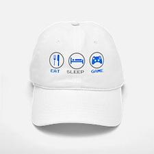 Eat Sleep Game Baseball Baseball Cap