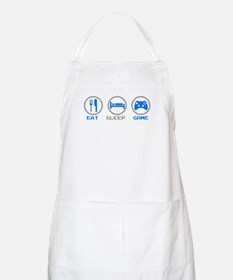 Eat Sleep Game BBQ Apron
