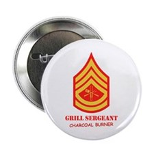 """Grill Sgt. 2.25"""" Button"""