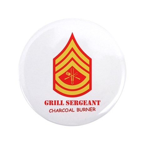 "Grill Sgt. 3.5"" Button"