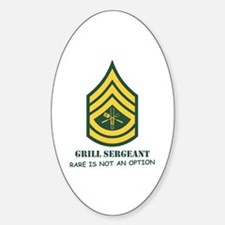 Grill Sgt. Oval Decal