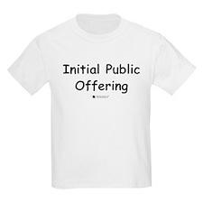 Initial Public Offering -  Kids T-Shirt
