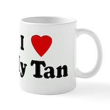 I Love My Tan Mug