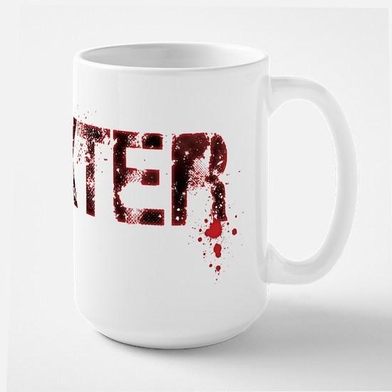 [Grunge] Dexter Large Mug