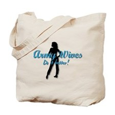 Cool Army military wives Tote Bag