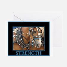 Parade Horse - Strength Greeting Card