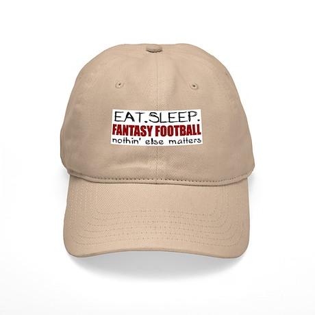 Eat Sleep Fantasy Football Cap