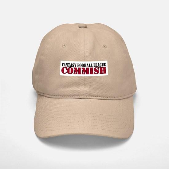 Fantasy Football Commish Baseball Baseball Cap