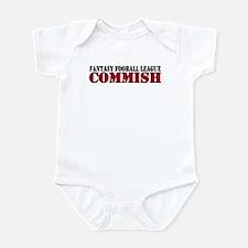 Fantasy Football Commish Infant Bodysuit