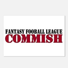 Fantasy Football Commish Postcards (Package of 8)