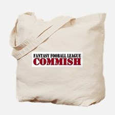 Fantasy Football Commish Tote Bag