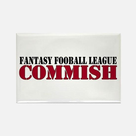 Fantasy Football Commish Rectangle Magnet
