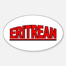 """Eritrean"" Oval Decal"